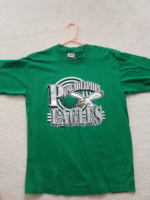shirt xl green silver eagles football philadelphia pa nfl philly pride trench co