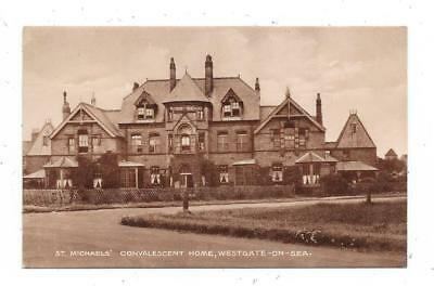 Real Photographic Postcard St.michaels Convalescent Home Westgate-On-Sea Kent
