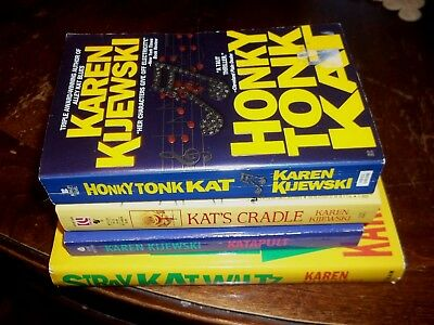 lot of 4 cozy mystery books karen kijewski Kat Colorado series female sleuth