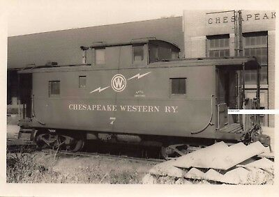 Chesapeake Western RY CWRY Photo Caboose #7