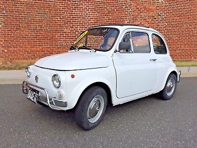 1971 Fiat 500 L CHARITY SALE to benefit Red Cross Disaster Relief   LOWERED RESERVE