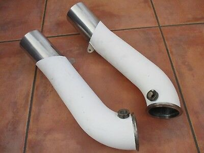 Indy Race Car Dallara Dw12 Turbo Charger Exhaust Pipes Open Wheel Racing Hot Rod