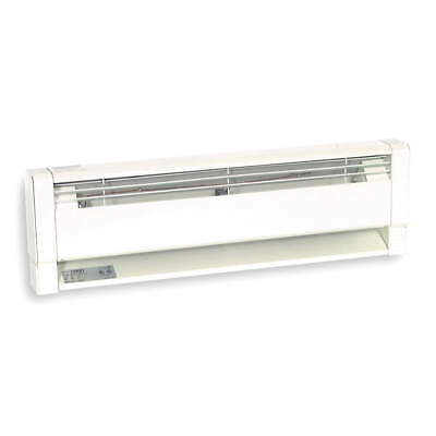 """94"""" Hydronic Electric Baseboard Heater, Dayton, 3UG29 Commercial, 208/240VAC"""