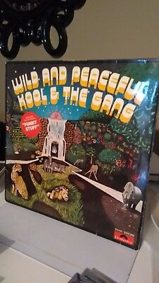 KOOL & THE GANG - WILD AND PEACEFUL VINYL 1973  soul/funk collection