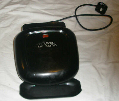 George Foreman single grill - cook healthier and have fun too!
