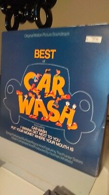 CAR WASH - BEST OF VINYL 1976 ROSE ROYCE  soul/funk collection