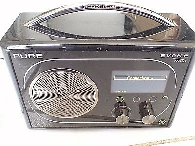 Pure Evoke Flow - Black RDS, AM/FM, DAB, WiFi Radio