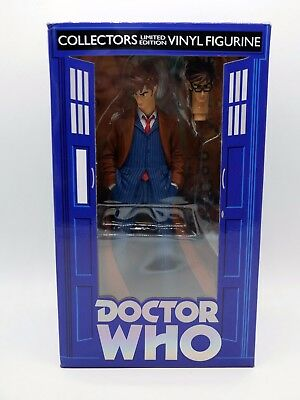 New Doctor Who 10th Doctor Dynamix Maquette Ltd  Tennant Vinyl Figure Big Chief