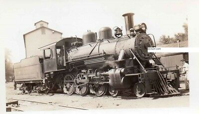 Kishcoquillas Valley RR KVRR Photo Locomotive #6 Belleville PA 1937