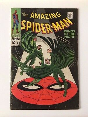 Marvel Comics Amazing Spider-Man #63 Silver Age 1968!!!