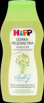 HiPP Baby Oil SENSITIVE Natural Oils Organic Almond Oil 200ml