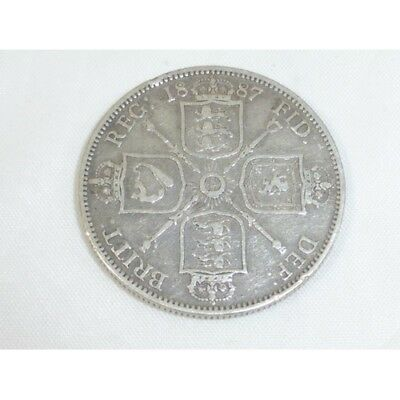 1887 Victoria Florin - Good Condition