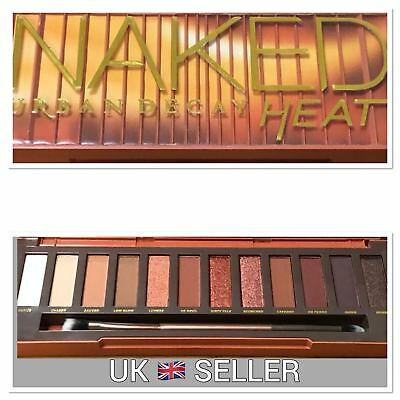 2017 Urban Decay Heat Naked Ultimate Basics Matte Eye Shadow Make Up Palette UK