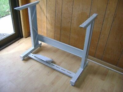 Industrial Sewing Machine Table Metal Leg Stand