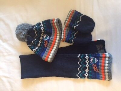 Boys Hat, Scarf & Mitten Set from Next