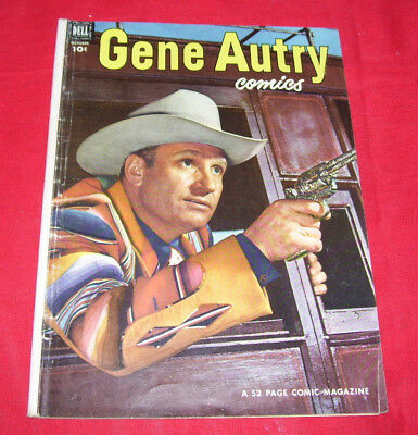 GENE AUTRY COMICS #68 (1952) Dell WESTERN GD/VG 3.0