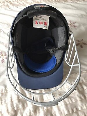 Junior 54-56 cms Gray Nicolls Warrior Cricket Helmet