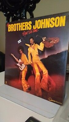 THE BROTHERS JOHNSON - RIGHT ON TIME VINYL 1977 soul/funk collection