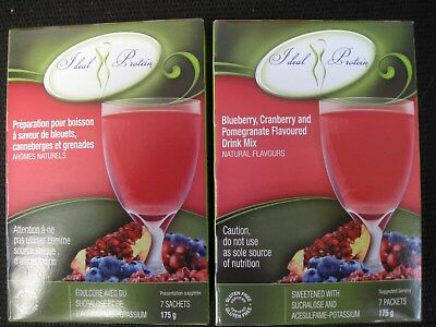Ideal Protein Blueberry Cranberry And Pomegranate Drink Mix (4 Boxes Of 7)