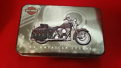 Harley Davidson Collectors Edition Playing Cards In Tin 1998