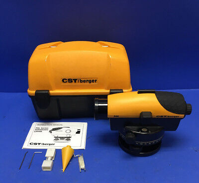 CST / Berger 24x Magnification Automatic Optical Level Tool In Case