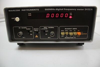 Marconi Digital Frequency Meter 2432A