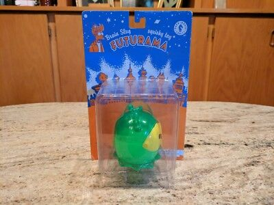 Futurama Brain Slug Squishy Toys - Dark Horse Comics (New on Card)