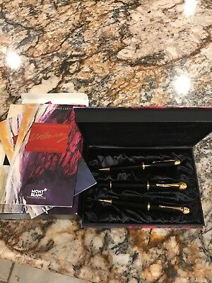 Montblanc Voltaire Limited Edition 3pc Pen Set FP BP MP New Year 1995