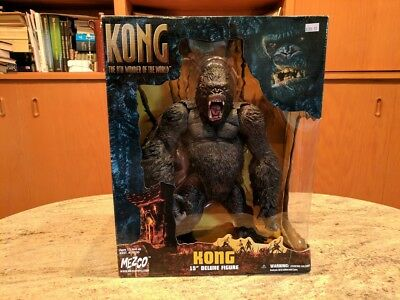 """KING KONG 8th Wonder of the World 15"""" Deluxe Figure by Mezco - Brand New"""