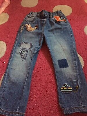 NEXT GIRLS JEANS 1.5 To 2 YEARS