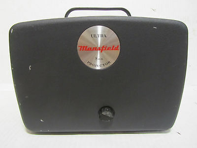 Vintage Ultra Mansfeild 8MM Projector with Original Instructions Inside