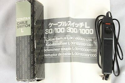 Contax Cable Switch L 30cm Shutter Release / Remote Release FREE SHIPPING!
