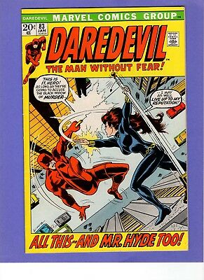 Daredevil #83 -    Black Widow!    -- --   VF/NM cond.