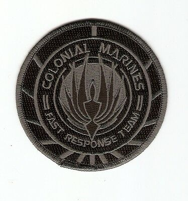 + BATTLESTAR GALACTICA Aufnäher/Patch COLONIAL MARINES Fast Response Team