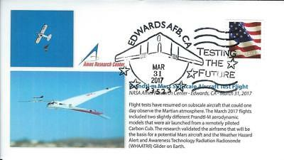 2017 Prandtl-3 Mars Subscale Aircraft Test Flight Edwards 31 March