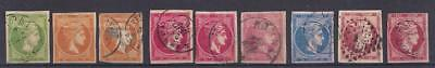 Greece selection of 28 stamps, ca. 1870-1900, all used