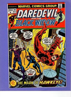 Daredevil #99 -    Black Widow! Hawkeye   -- --   VF/NM  cond.