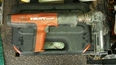 HIlti Powder-actuated tool DX 351 w/X-MX 32
