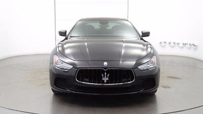 2017 Maserati Ghibli 3.0L 2017 Maserati Ghibli - 1 Owner, Low Miles, Nero over Nero with Red Stitching