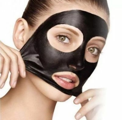 Blackhead Remover Face Mask Deep Cleansing Pore Peel Acne Black Mask SACHET PACK