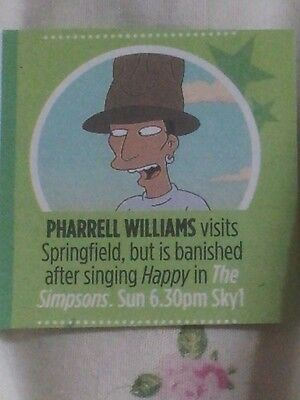 Pharrell Williams in The Simpsons Cutting