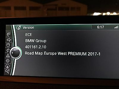 Mise À Jour Gps BMW/Mini Carte Europe Premium 2017 iDrive2