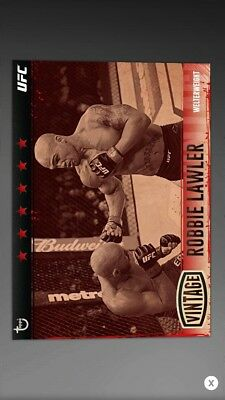 Topps UFC Knockout 17- Robbie Lawler Vintage