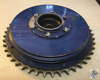 1954-1959 Bsa Q.d. Rear Brake Drum Sprocket Oem