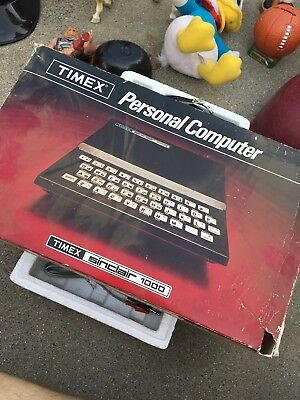 Brand new TIMEX Sinclair 1000 Personal Computer with all parts