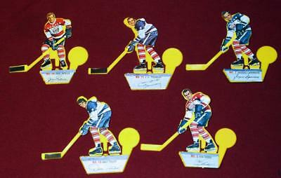 5 Vintage Post Cereal Hockey Shooters Ratelle Tremblay Hodge Laperriere Tallon!