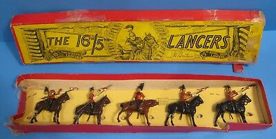 1950's Britain Soldiers The 16th/5th Lancers