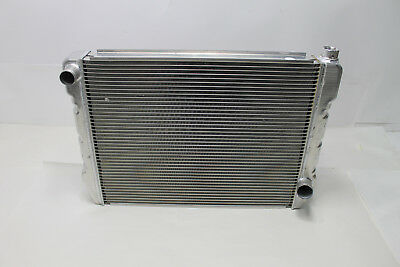 "New Evans NPG Cooling Systems 27.5"" x 19"" Aluminum Radiator - Chevy In/Out"