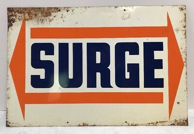 OriginalVintage Surge Milker Dairy Equipment Advertising Sign