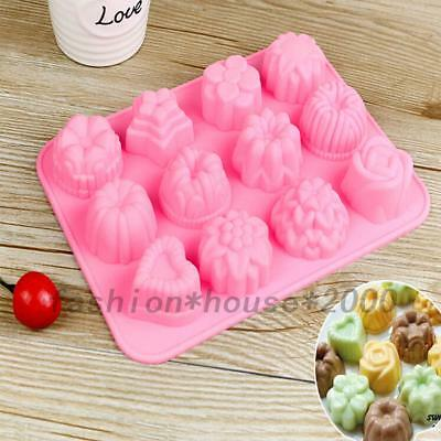 DIY Bakeware Silicone Chocolate Mold Candy Cookie Cake Baking Mould Kitchen Tool